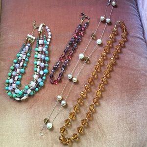 Jewelry - Set of 4 costume necklaces